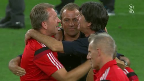 Joachim Löw & Hansi Flick – Germany v Argentina – post-match show 4