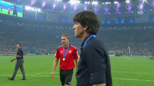 Joachim Löw & Hansi Flick – Germany v Argentina – post-match show 43