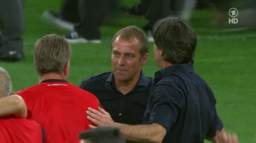 Joachim Löw & Hansi Flick – Germany v Argentina – post-match show 5