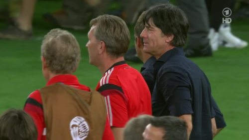 Joachim Löw & Hansi Flick – Germany v Argentina – post-match show 6