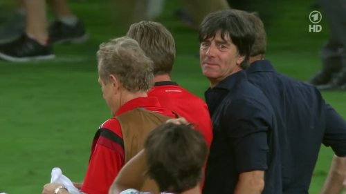 Joachim Löw & Hansi Flick – Germany v Argentina – post-match show 7