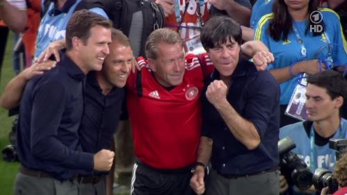 Joachim Löw & Hansi Flick – Germany v Argentina – post-match show 8