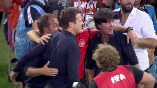 Joachim Löw & Hansi Flick – Germany v Argentina – post-match show 9