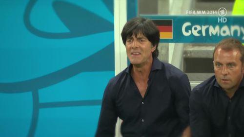 Joachim Löw & Hansi Flick – Germany v Argentina – pre-match show 10