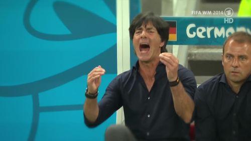 Joachim Löw & Hansi Flick – Germany v Argentina – pre-match show 11
