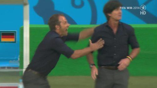 Joachim Löw & Hansi Flick – Germany v Argentina – pre-match show 13