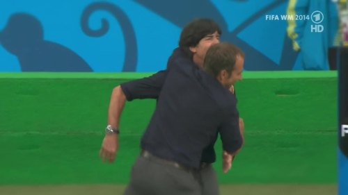 Joachim Löw & Hansi Flick – Germany v Argentina – pre-match show 15