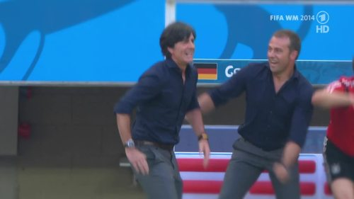 Joachim Löw & Hansi Flick – Germany v Argentina – pre-match show 16