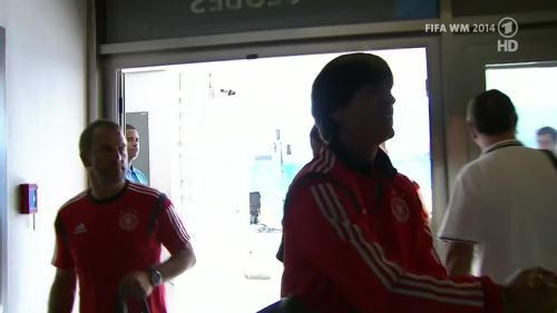 Joachim Löw & Hansi Flick – Germany v Argentina – pre-match show 17