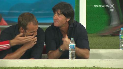 Joachim Löw & Hansi Flick – Germany v Argentina – pre-match show 20