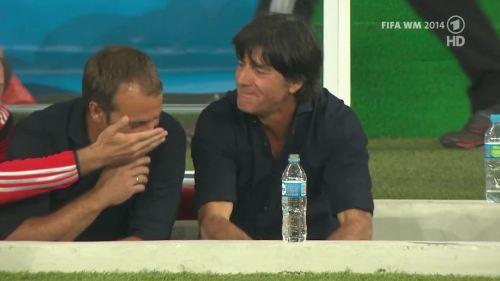Joachim Löw & Hansi Flick – Germany v Argentina – pre-match show 21