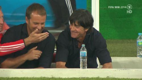 Joachim Löw & Hansi Flick – Germany v Argentina – pre-match show 22