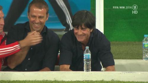 Joachim Löw & Hansi Flick – Germany v Argentina – pre-match show 23