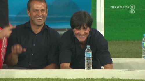 Joachim Löw & Hansi Flick – Germany v Argentina – pre-match show 24