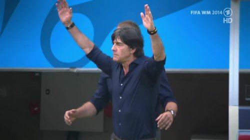 Joachim Löw & Hansi Flick – Germany v Argentina – pre-match show 25