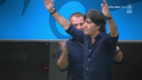 Joachim Löw & Hansi Flick – Germany v Argentina – pre-match show 27