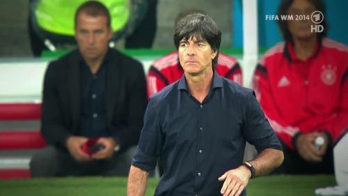 Joachim Löw & Hansi Flick – Germany v Argentina – pre-match show 28