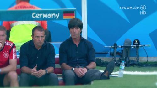 Joachim Löw & Hansi Flick – Germany v Argentina – pre-match show 3