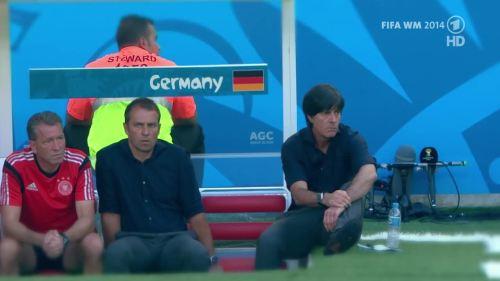 Joachim Löw & Hansi Flick – Germany v Argentina – pre-match show 4