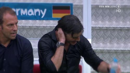 Joachim Löw & Hansi Flick – Germany v Argentina – pre-match show 9