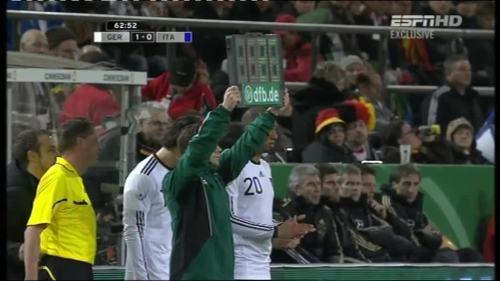 Joachim Löw & Hansi Flick – Germany v Italy 8