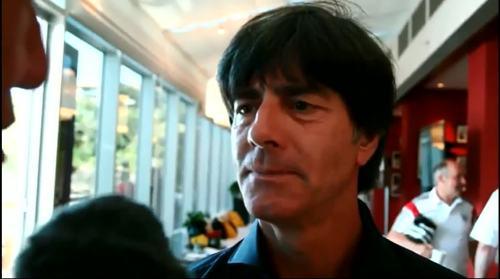 Joachim Löw nach dem Finale 1