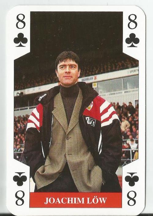 Joachim Löw - VfB Stuttgart playing card