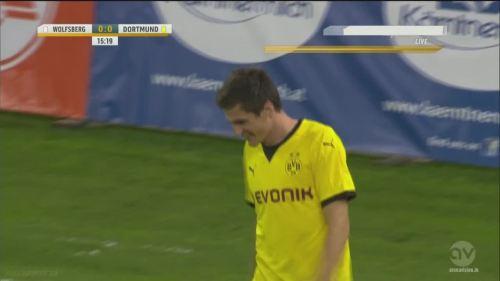 Jonas Hofmann – goal celebrations – WAC v BVB 2