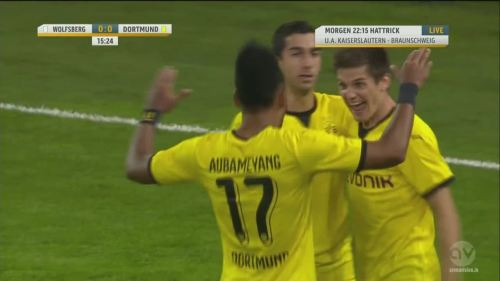 Jonas Hofmann – goal celebrations – WAC v BVB 3