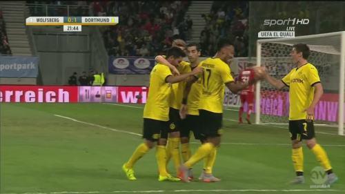 Jonas Hofmann – goal celebrations – WAC v BVB 5
