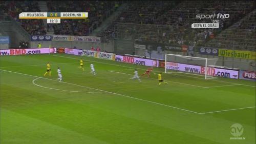 Jonas Hofmann – goal – WAC v BVB