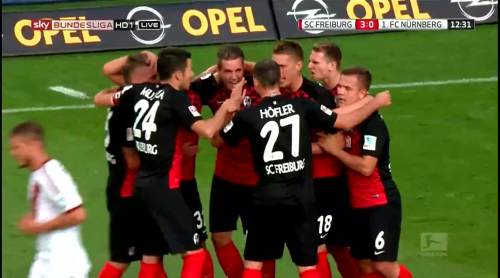 Nils Petersen goal celebrations 5
