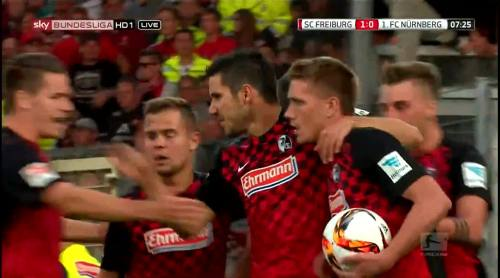 Nils Petersen - penalty celebrations 2