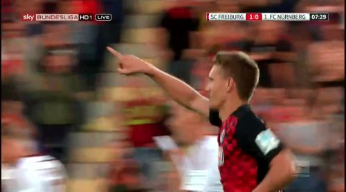 Nils Petersen - penalty celebrations 3