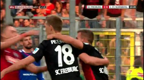 Nils Petersen - penalty celebrations 4