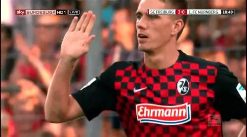 Nils Petersen - penalty celebrations 6