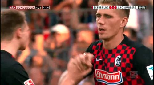 Nils Petersen - penalty celebrations 7