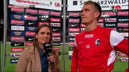 Nils Petersen - post-match interview 1