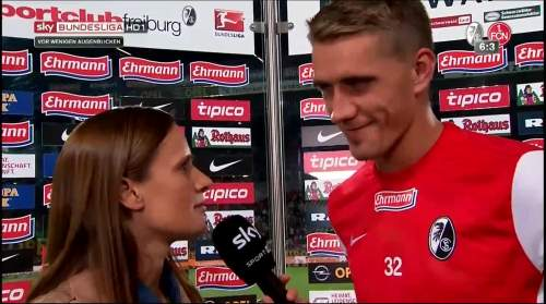Nils Petersen - post-match interview 2