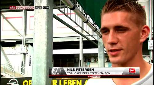 Nils Petersen pre-match interview 4