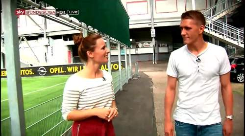 Nils Petersen pre-match interview 8