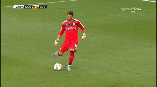 Roman Bürki - BVB v Juventus 4