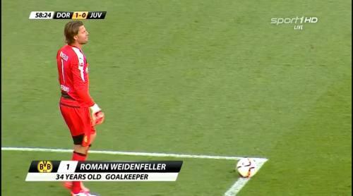 Roman Weidenfeller - BVB v Juventus 1