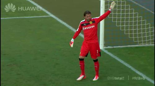 Roman Weidenfeller - FC Luzern vs BVB 4