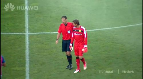 Roman Weidenfeller - FC Luzern vs BVB 6