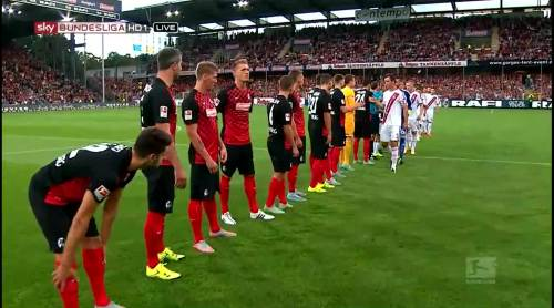 SC Freiburg line-up