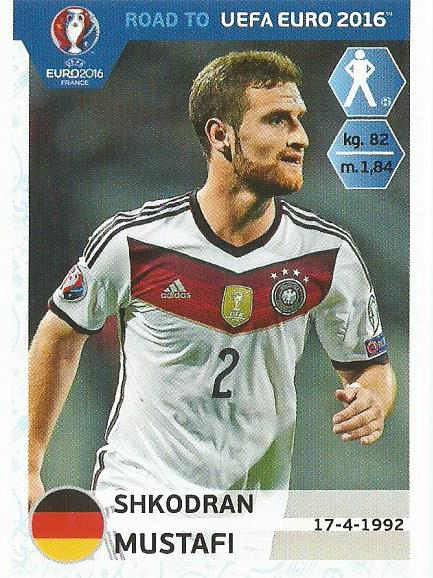 Shkodran Mustafi - Germany - Road to Euro 2016