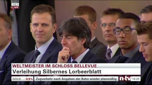 Silbernes Lorbeerblatt Präsentation – Joachim Löw 9