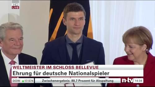 Silbernes Lorbeerblatt Präsentation – Thomas Müller 1