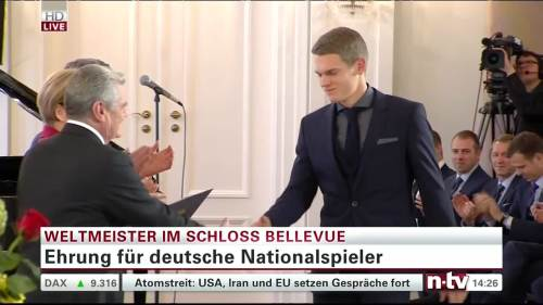 Silbernes Lorbeerblatt Präsentation - Mathias Ginter 3